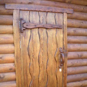 Дверь под старину #1