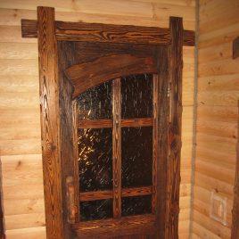 Дверь под старину #10