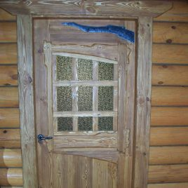 Дверь под старину #12