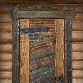 Дверь под старину #14