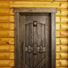 Дверь под старину #18