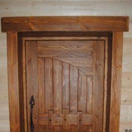 Дверь под старину #5