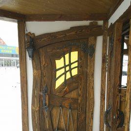 Дверь под старину #7