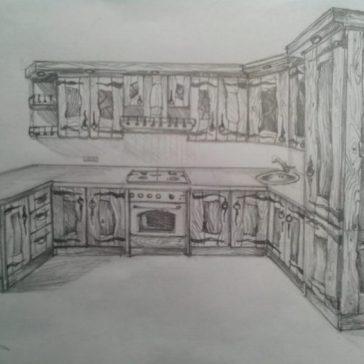 Кухня «Роза»