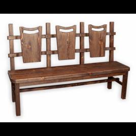 Скамейка под старину #17