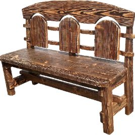 Скамейка под старину #18
