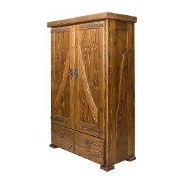 Шкаф под старину №4