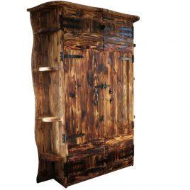Шкаф под старину №8