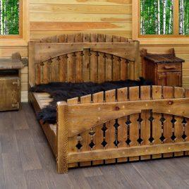 Кровать под старину арт.1246