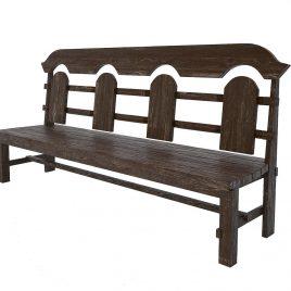 Скамейка под старину #19