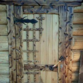 Дверь под старину #21