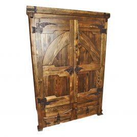 Шкаф под старину №17