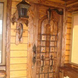 Дверь под старину #26