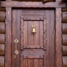 Дверь под старину #34