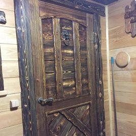 Дверь под старину #19