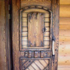 Дверь под старину #22