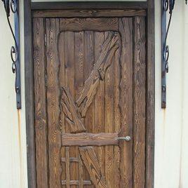 Дверь под старину #23