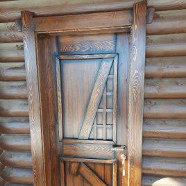 Дверь под старину #24