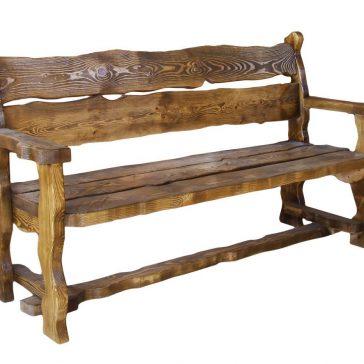 Скамейка под старину #36