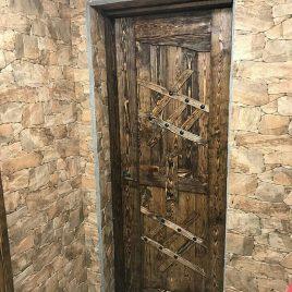 Дверь под старину #36