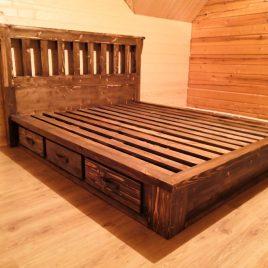Кровать под старину арт.1248