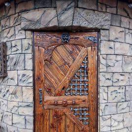 Дверь под старину #42