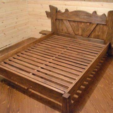 Кровать под старину арт.1268