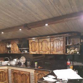 Кухня под старину №43