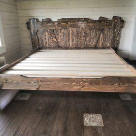 Кровати под старину из массива сосны