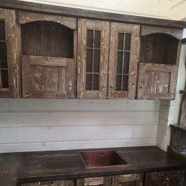 Кухня под старину №44