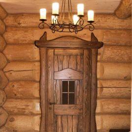 Дверь под старину #43