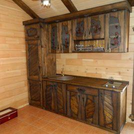 Кухня под старину №47