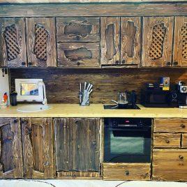 Кухня под старину №38