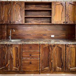 Кухня под старину №37