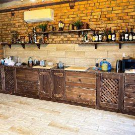 Кухня под старину №36