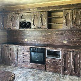 Кухня под старину №34