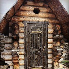 Дверь под старину #59