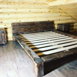 Кровать под старину арт.1260