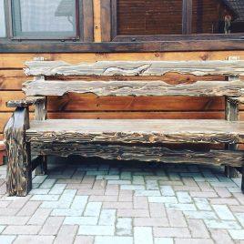 Изящные скамейки под старину