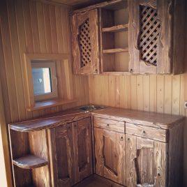 Кухня под старину №30