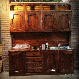 Кухня под старину №29